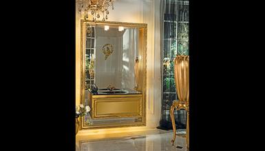 Lüks Disaste Altın Klasik Banyo Takımı - Thumbnail