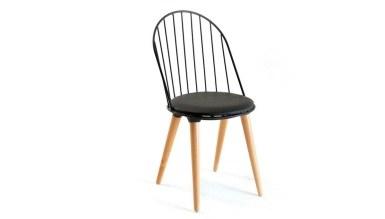 920 - Lüks Dmg Siyah Sandalye