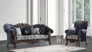 696 - Lüks Doresa Klasik Salon Takımı