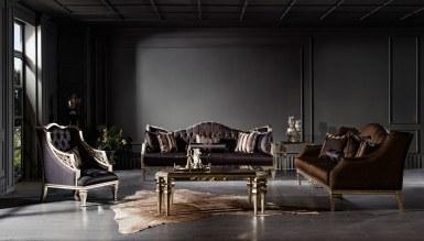 701 - Lüks Dubai Art Deco Koltuk Takımı