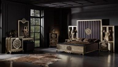 701 - Lüks Dubai Art Deco Yatak Odası
