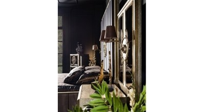 Lüks Dubai Art Deco Yatak Odası - Thumbnail