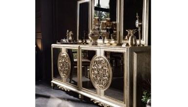 Lüks Dubai Art Deco Yemek Odası - Thumbnail