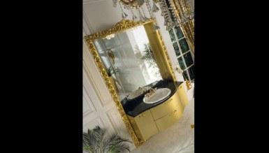 Lüks Dukyor Altın Klasik Banyo Takımı - Thumbnail