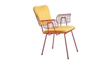 920 - Lüks Duron Metal Ayaklı Sandalye