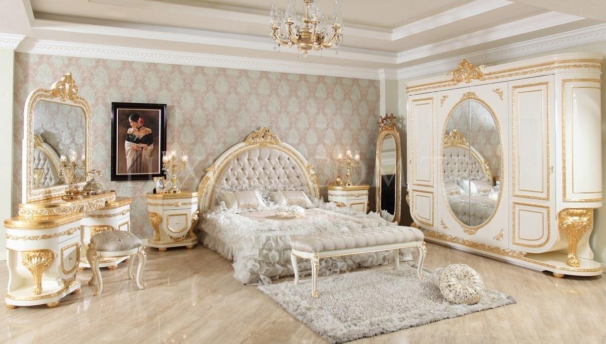 Lüks Eftela Klasik Yatak Odası