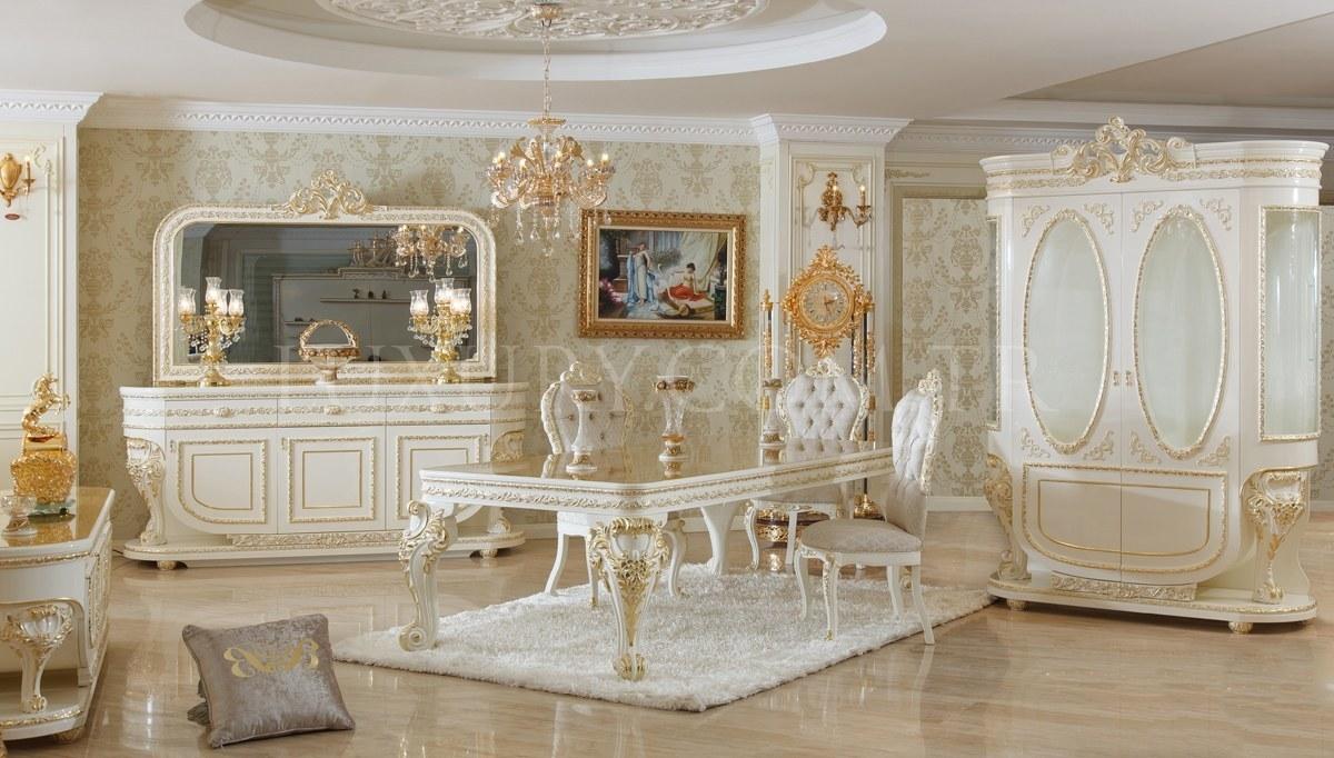 Lüks Eftela Klasik Yemek Odası