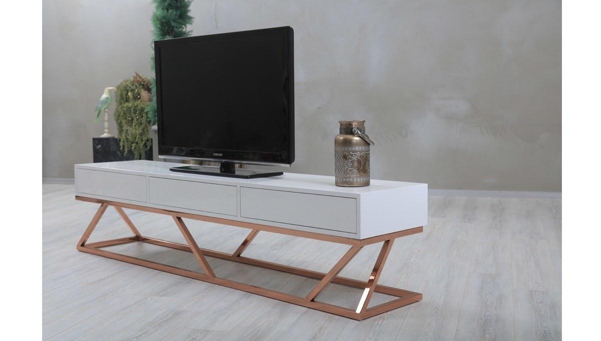 Lüks Ekore TV Sehpası