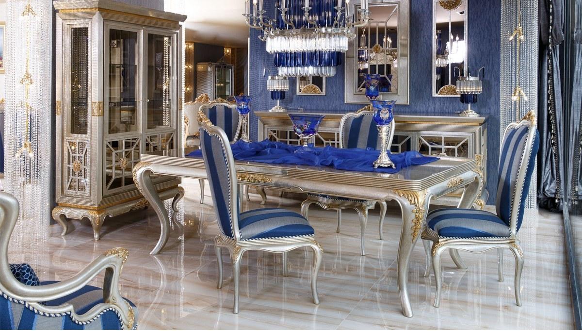 Lüks Elegant Klasik Yemek Odası