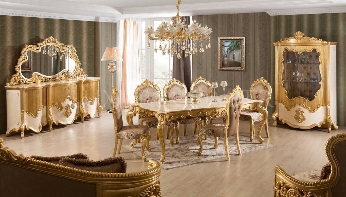 Lüks Elenora Klasik Yemek Odası