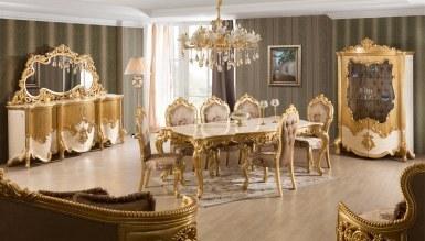 Lüks Elenora Klasik Yemek Odası - Thumbnail