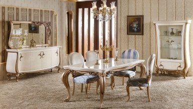787 - Lüks Elpina Klasik Yemek Odası
