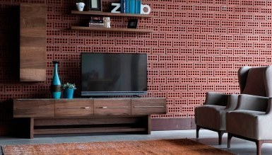 228 - Lüks Eltera Ahşap TV Ünitesi