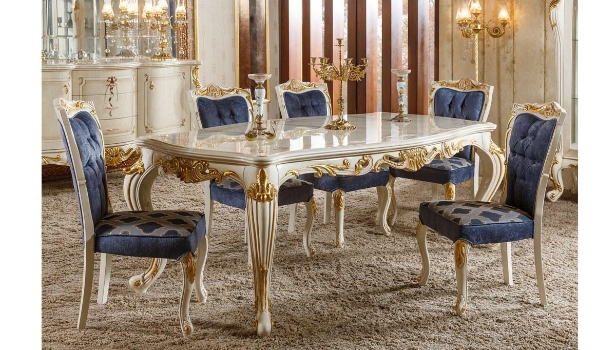 Lüks Emerald Klasik Yemek Odası
