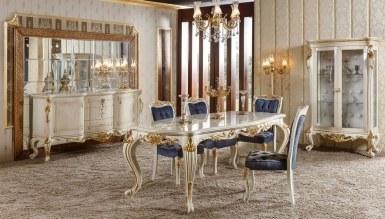 787 - Lüks Emerald Klasik Yemek Odası
