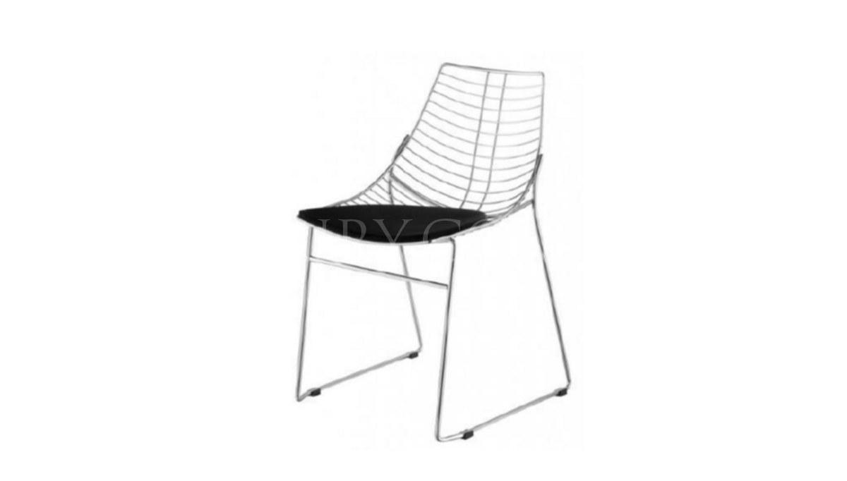Lüks Ephin Metal Ayaklı Sandalye