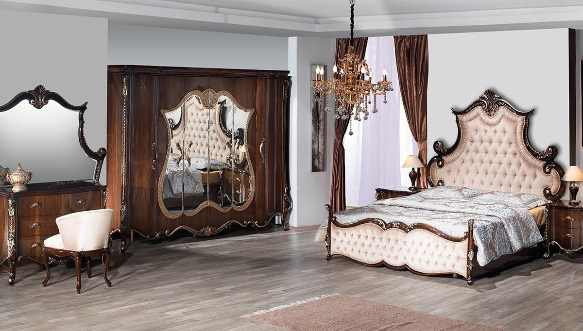 Lüks Ertuğrul Ceviz Yatak Odası