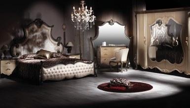 Lüks Ertuğrul Siyah Bed Room