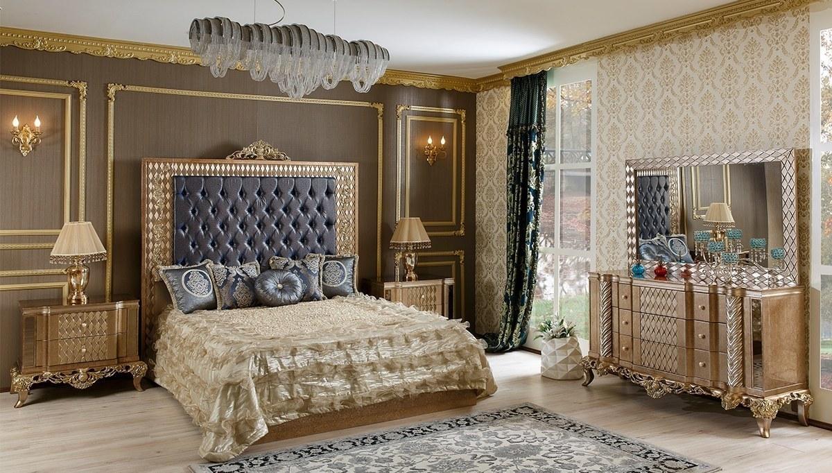 Lüks Esante Klasik Yatak Odası