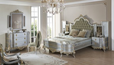 Lüks Eskape Klasik Yatak Odası - Thumbnail