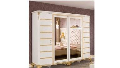 Lüks Estoril Klasik Yatak Odası - Thumbnail