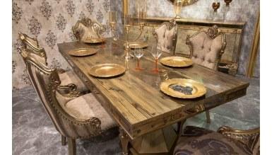 Lüks Evona Klasik Yemek Odası - Thumbnail