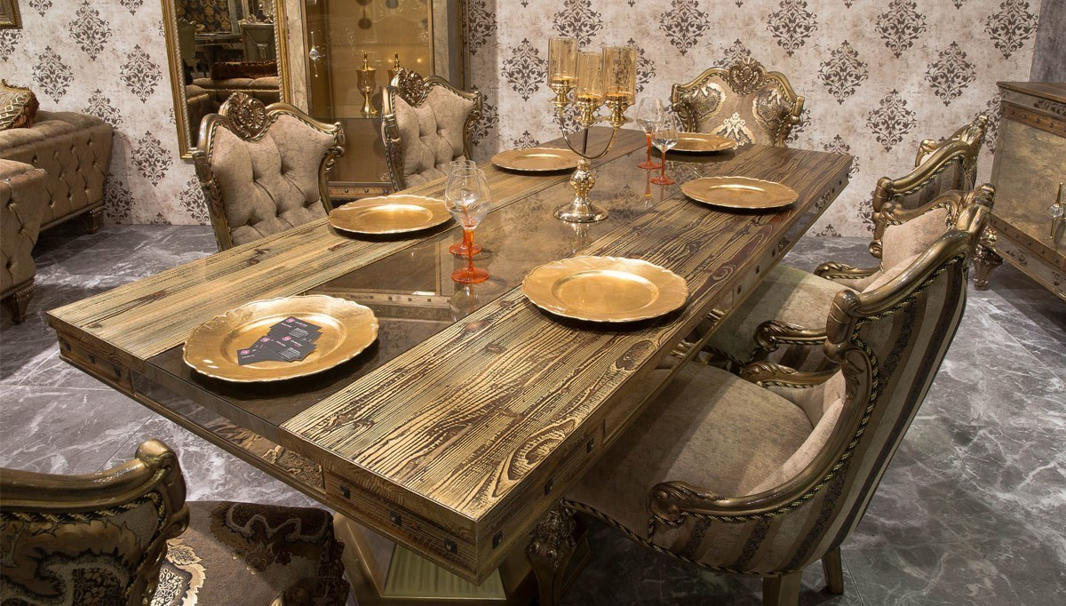 Lüks Evona Klasik Yemek Odası
