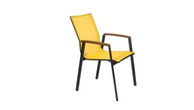 1009 - Lüks Faded Metal Ayaklı Sandalye