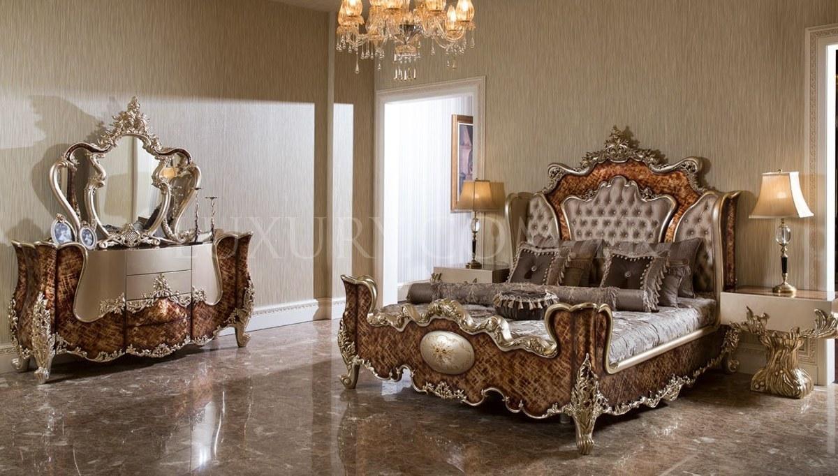 Lüks Falenas Klasik Yatak Odası