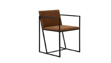 1009 - Lüks Fayta Metal Ayaklı Sandalye