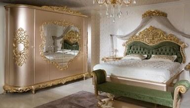865 - Lüks Fazilet Klasik Yatak Odası