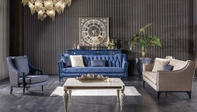 Lüks Federal Art Deco غرفة الجلوس