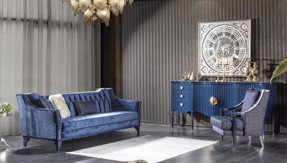 Lüks Federal Art Deco Koltuk Takımı