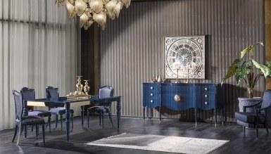 931 - Lüks Federal Art Deco Yemek Odası