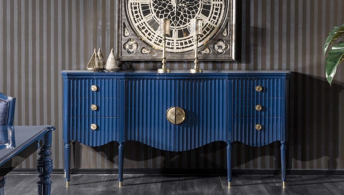 Lüks Federal Art Deco Yemek Odası