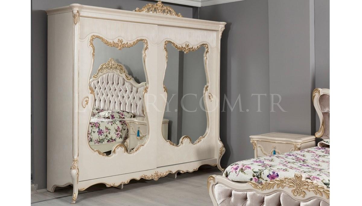Lüks Fenomen Klasik Yatak Odası