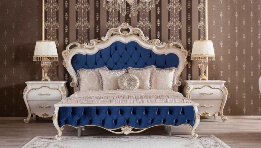 Lüks Ferona Klasik Yatak Odası - Thumbnail