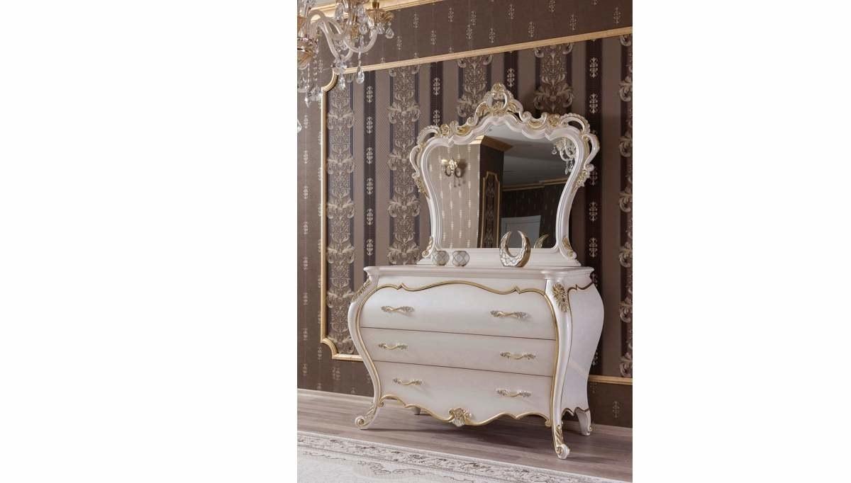 Lüks Ferona Klasik Yatak Odası