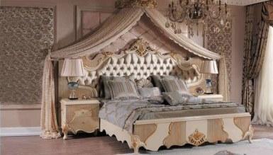 Lüks Feronni Klasik Yatak Odası - Thumbnail