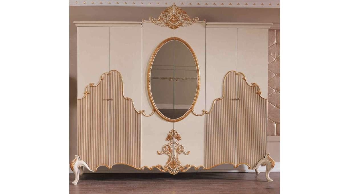 Lüks Feronni Klasik Yatak Odası