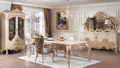 532 - Lüks Feronni Klasik Yemek Odası
