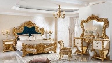 903 - Lüks Fetih Paşa Lake Oymalı Klasik Yatak Odası