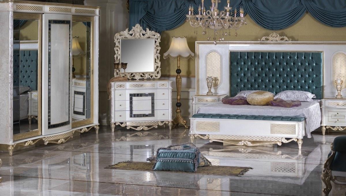Lüks Feveran Klasik Yatak Odası
