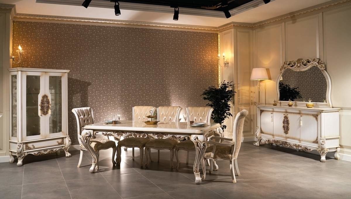 Lüks Filika Klasik Yemek Odası