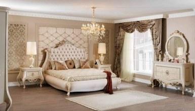 532 - Lüks Firuzan Klasik Yatak Odası