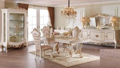532 - Lüks Firuzan Klasik Yemek Odası