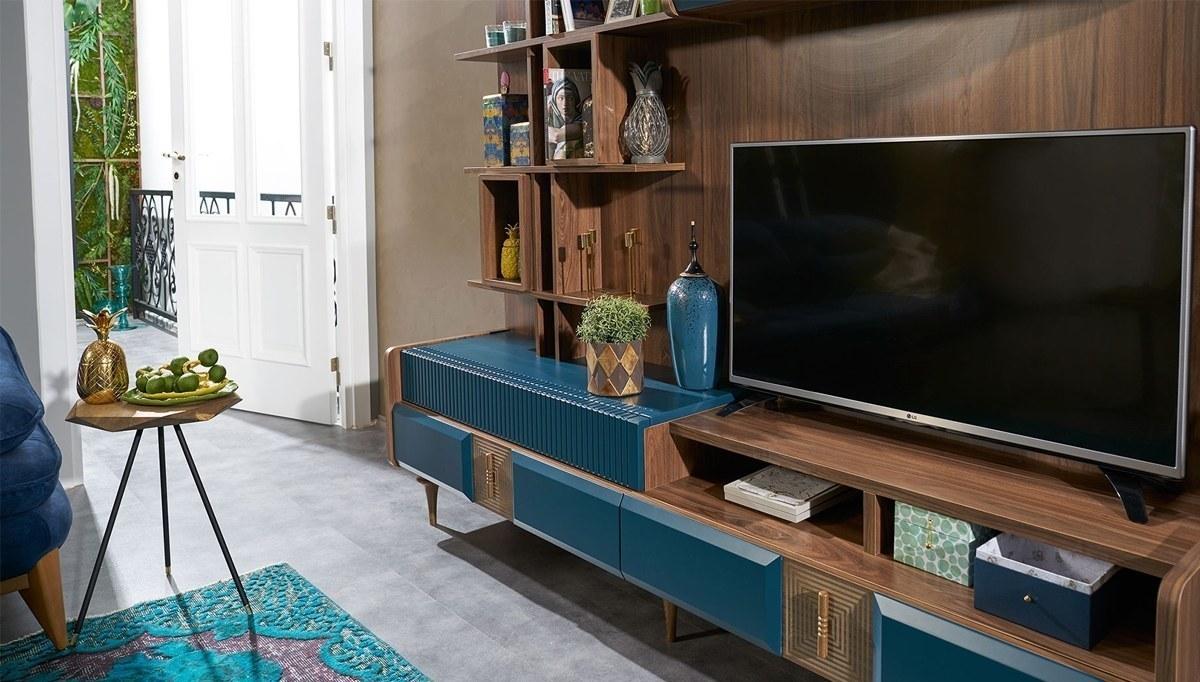 Lüks Fizzi Modern TV Ünitesi
