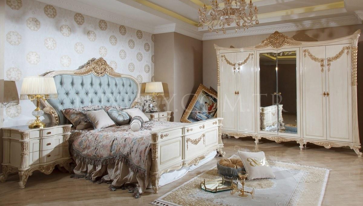 Lüks Florans Klasik Yatak Odası