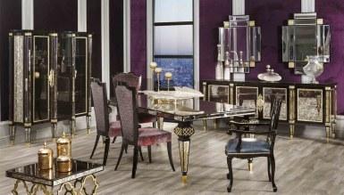 Lüks Forza Art Deco غرفة الطعام