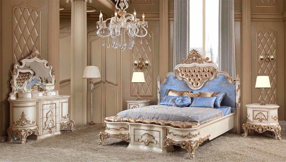 Lüks Fulya Klasik Yatak Odası